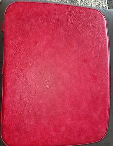 "Samsonite Fashionaire Hardside 20"" Suitcase Vintage Luggage Rare Hot Pink! 70's?"