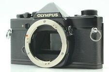 【NEAR MINT】 Olympus OM-1N 35mm SLR Camera Black Body Only from Japan #409