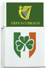 Irish Erin Clan Ireland Clover Flag Family Reunion Lighter Dog Tag Set Chain EU