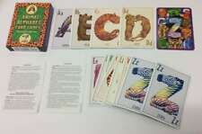 Excellent, Animal Alphabet Card Games, , Book