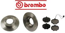 Land Rover Range Rover 87-89 3.5 3.9 Brembo Rear Brake Kit Rotors & Mintex Pads