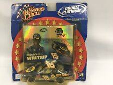 2002 Winners Circle Double Platinum Michael Waltrip #15 Collector Cards 1:43 Car