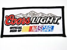 Coors Luce Birra USA NASCAR Mend ferro Patch ricamato Adesivo