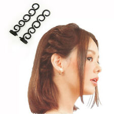 2pcs/set Women Magic Hair Clip Stylist Queue  Plait DIY Braid Hairstyle