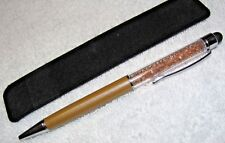 SPARKLING CRYSTALS 2 IN 1 STYLUS INK PEN FOR TOUCH SCREEN iPOD iPHONE NEC HP HTC