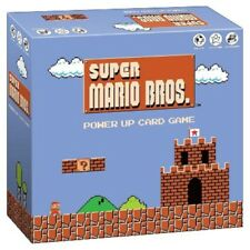 Super Mario Brothers Power Up Card Game - BRAND NEW! SEALED! Nintendo NES Bros.