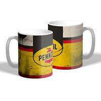 Pennzoil Mug Oil Can Effect Car Motorbike Mechanic Tea Coffee Mug Gift