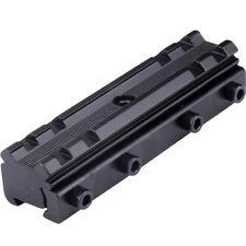 Dovetail 11-20mm Weaver Picatinny Rail Base Scope Mount Converter for Hunting