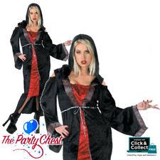 XL GOTHIC AFFAIR LADIES PLUS SIZE COSTUME Halloween Womens Fancy Dress Outfit