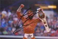 WWE WRESTLING: Zack Ryder firmata 6x4 FOTO D'AZIONE + COA ** prova **