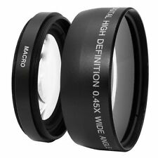 【AU】58mm 0.45X Wide Angle Macro Lens  For Canon Sony Nikon Pentax Olympus Camera