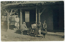 People in Old Town, Tashkent, Asian Types, Russian Asia, 1910s