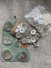Job Lot Of Mixed Vintage Buttons.