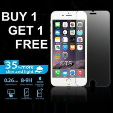 100% GENUINE TEMPERED GLASS FILM SCREEN PROTECTOR FOR APPLE IPHONE 6S - NEW