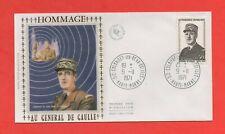 FDC 1971 - Memorial To General de Gaulle (1438)