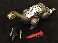 Vintage Transformers G1 Sludge w/ Accessories 80's vtg dinobot