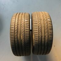 2x Continental ContiSportContact 5 MO 225/45 R17 91V 0816 5,5 mm Sommerreifen