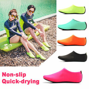 OUTDOOR WATER SWIMMING DIVING SURFING BEACH SHOES SOCK NON-SLIP QUICK-DRYING AU