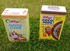 Kelloggs Coco Pops&Frosted Flakes Tin Retro Style Collectors Itd Edition. Used
