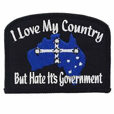 Southern Cross Australia Iron On Patch Flag Badge Embroidered Bike Motorcycle
