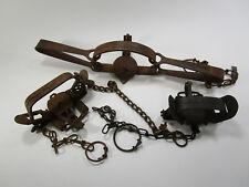 Lot of 3 vintage animal traps Oneida Victor