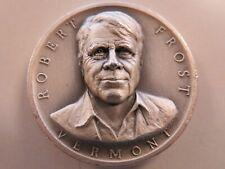 Medallic Art Co .999+ pure silver Robert Frost  #424