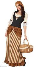 Déguisement Femme Servante Médiévale XXL Costume Paysanne Falbala Film