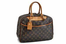 Authentic Louis Vuitton Monogram Deauville Hand Bag M47270 LV 86255