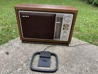 Vintage Sony ICF-9740W AM/FM Table Radio