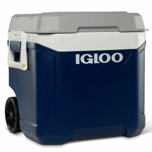 Igloo Maxcold Latitude 58 Litre (62 US QT) Rolling Cool Box Ice Cooler 98 Cans