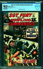 Sgt. Fury and His Howling Commandos #53 CBCS VF/NM 9.0 Off White to White