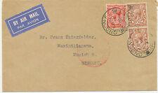 2402 1933 LONDON COLOGNE MIT LUFTPOST BEFÖRDERT / LUFTPOSTAMT / KÖLN-1-FLUGHAFEN