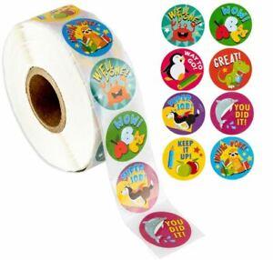 Reward Stickers - Motivational Stickers Roll For Kids