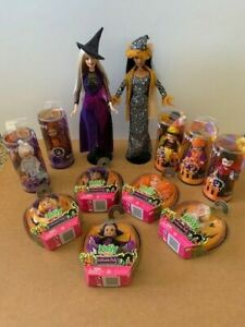 Lot of 10 NFRB Halloween Party Kelly & 2 Barbie Halloween Dolls