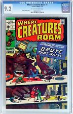Where Creatures Roam #1 (Jul 1970, Marvel) CGC 9.2 NM- Marie Severin cover