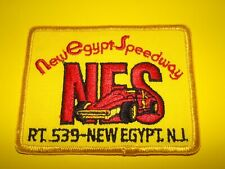 New Egypt Speedway New Jersey Embroidered Racing Patch