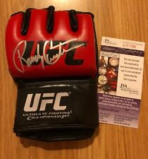 Randy Couture autograph signed UFC  Fighting Glove MMA COA JSA PHOTO PROOF