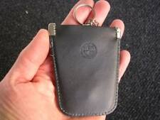 BMW ORIGINAL VINTAGE LEATHER KEY RING POUCH CHAIN - CAR ACCESSORY 2002 M3 - NOS