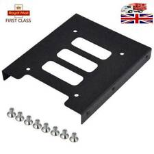 """New 2.5"""" to 3.5"""" SSD HDD Metal Adapter Mounting Bracket Hard Drive Holder for PC"""