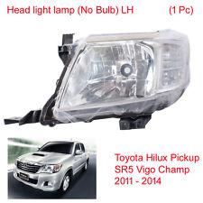 Head light lamp (No Bulb) LH 1 Pc For Toyota Hilux SR5 Vigo Champ 2011 - 2014