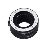Auto Focus AF Macro DG Extension Tube 10mm+16mm Set For Micro M4/3 Camera