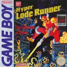 Nintendo GameBoy game - Hyper Lode Runner: The Labyrinth of Doom cartridge