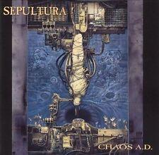Sepultura - Chaos A.D.  (CD, Oct-1996 Roadrunner Records) RR 8859-2