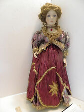 Vintage William Tung Treasures Forever Agnes Porcelain Doll Box Coa