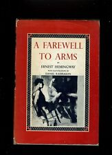 A FAREWELL TO ARMS. HEMINGWAY. 1ST ILLUSTRATED ED IN JACKET 1954. RARE. VG++