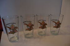 Anheuser Bush Beer Eagle Hollywood Casino Drinking Tumblers Glasses Lot