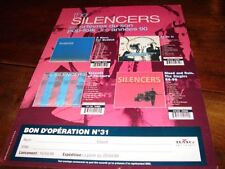 THE SILENCERS DISCOGRAPHY!!!!!!!!!RARE FRENCH PRESS/KIT