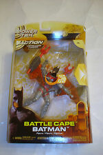 Mattel 2005 Batman Begins Battle Cape Batman Action Figure MIP Power tek DC