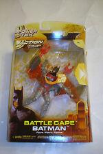 Mattel 2005 Batman Begins Battle Cape Batman Action Figure Mip Power tek Dc