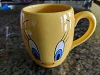 Tweety Bird 1999 Warner Bros Studio Store Coffee Mug Cup Looney Tunes Face EUC